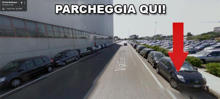 parcheggio-auto-fiumicino