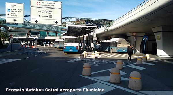 Gli Autobus Dall Aeroporto Di Fiumicino A Ostia Fregene E