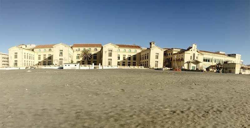 ex colonia Vittorio Emanuele III Ostia