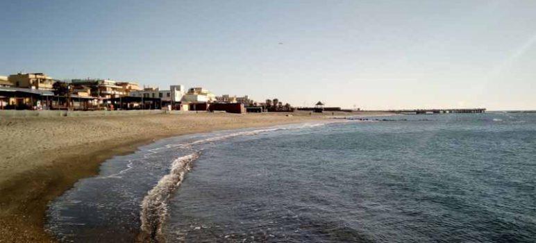 mare di Ostia in inverno